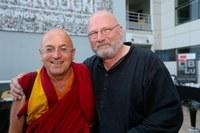 Avec Mathieu Ricard